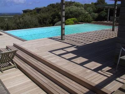 Drewniane tarasy tarasy z drewna egzotycznego warszawa for Interrare piscina intex