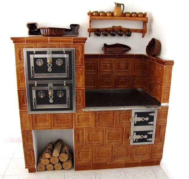 Budowa, przebudowa piecow kaflowych, kominki, Mirsk   -> Kuchnia Kaflowa Krok Po Kroku