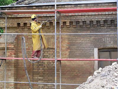 Piaskowanie cegły,hydrofobizacja elewacji - kliknij, aby powiększyć