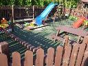 Place zabaw dla dzieci w ogrodzie, Łódź, Zgierz, Kutno, łódzkie