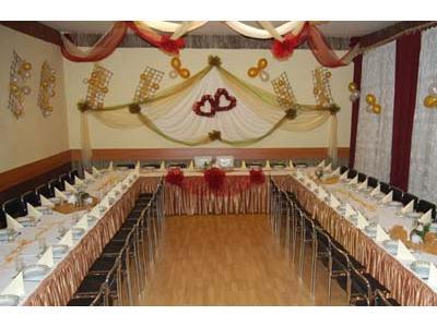 Dekorowanie STROJENIE sal weselnych, KOMUNIJNYCH