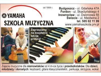 oferta Szkoły Muzycznej Yamaha - kliknij, aby powiększyć