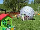 Przywidz - park rozrywki - zorbing dla najmłodszych