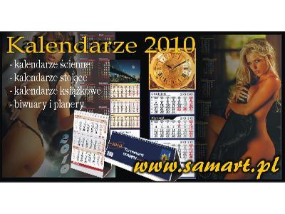 Kalendarze reklamowe 2010__druk projekty realizacje__www.samart.pl - kliknij, aby powiększyć