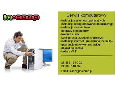 Serwis Komputerowy In Comp Kraków Małopolskie Favorepl