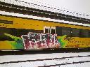 Usuwanie graffiti z pociągu, Koleje Dolnośląskie S.A. Legnica