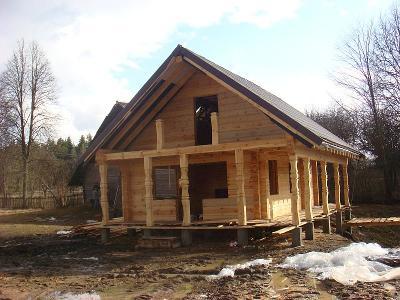 Drewniane domy z bali-144m2 za 13500euro