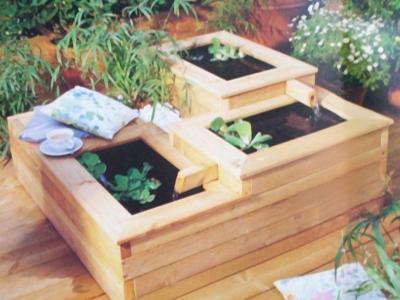 Oczko wodne idealne na taras lub balkon - kliknij, aby powiększyć