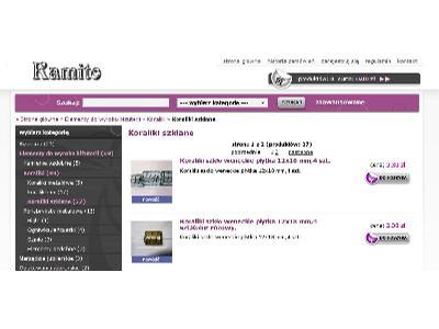 Kamito-sklep internetowy - kliknij, aby powiększyć