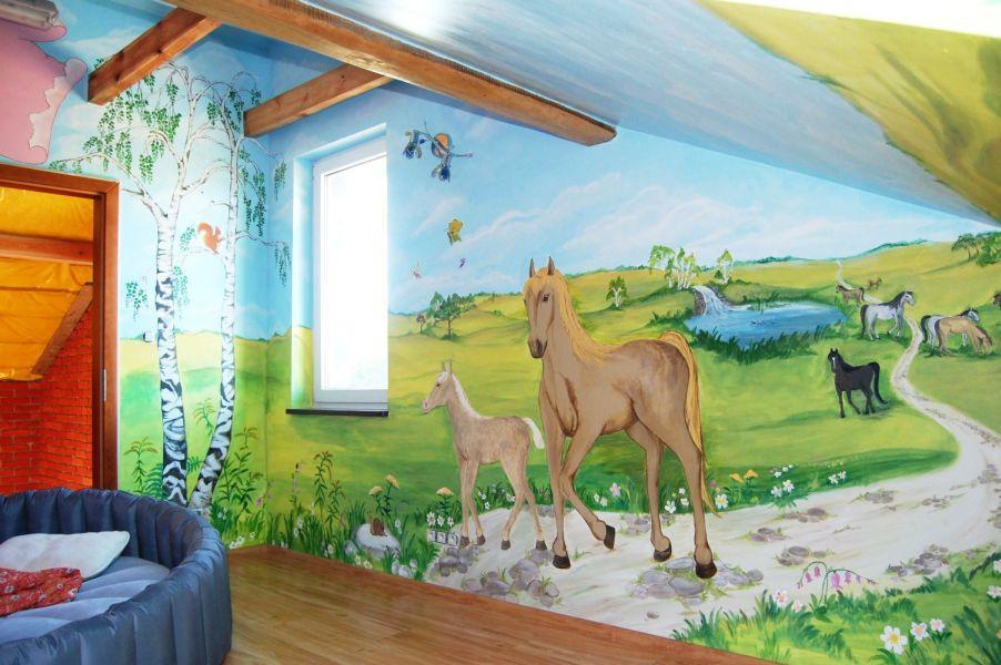 Artystyczne Malowanie Scian Malarstwo Scienne Wroclaw Cala Polska