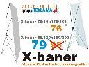 X-banery XBANER PAJ�K stojaki reklamowe sk�adane, ��d�, Warszawa, Pozna�, Szczecin, Krak�w, Katowice, mazowieckie
