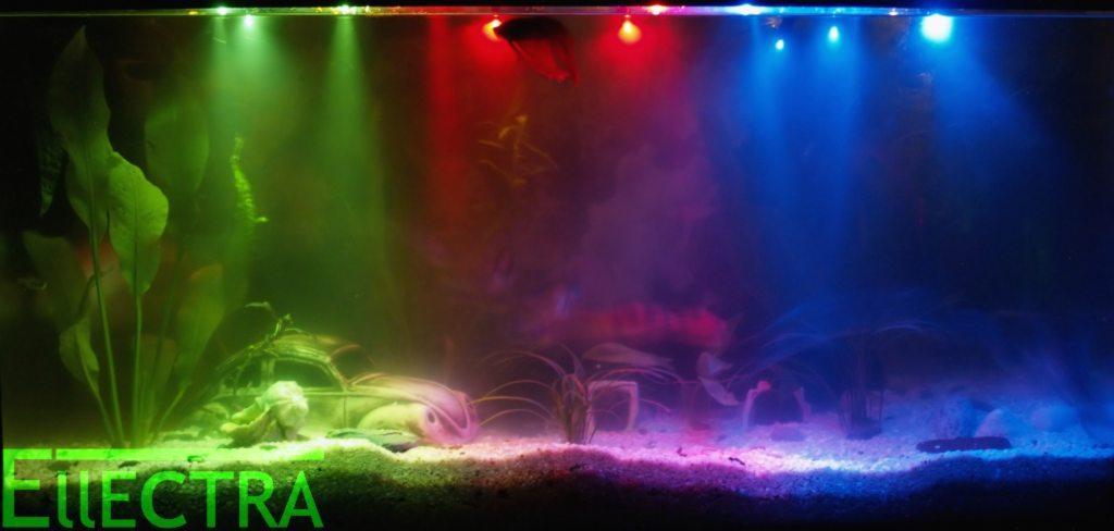 Oświetlenie Led Nocne Do Akwarium Zestaw 6 Led Galeria