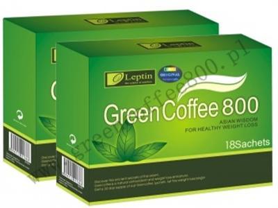 Green Coffee 800 Zielona Kawa  - kliknij, aby powiększyć