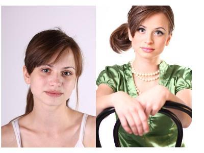 Przed i po metamorfozie - kliknij, aby powiększyć