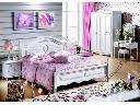 Łóżko białe 180x200 seria Księżniczka #886 , Stara Iwiczna, mazowieckie