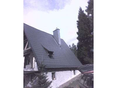 remont fasady oraz wymiana poszycia Jatny Brenna - kliknij, aby powiększyć