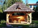 Altanka ogrodowa, altana drewniana, altana biesiadna, wiata weselna , Ostrów Lubelski, lubelskie