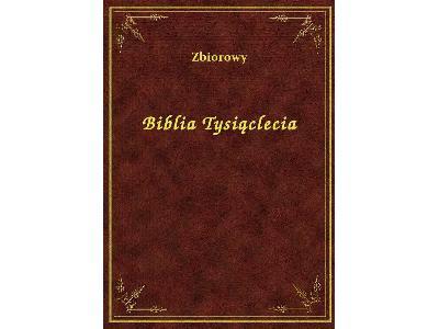 Biblia Tysiąclecia - darmowy ebook ePub - kliknij, aby powiększyć
