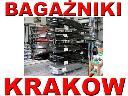 Bagażniki, boxy, łańcuchy, uchwyty - sprzedaż, Kraków, małopolskie