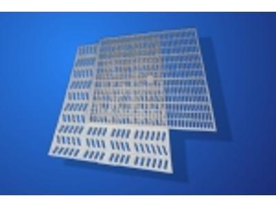 krata pomostowa wema vema polipropylen PP podesty techniczne technologiczne ażurowe antypoślizgowe - kliknij, aby powiększyć