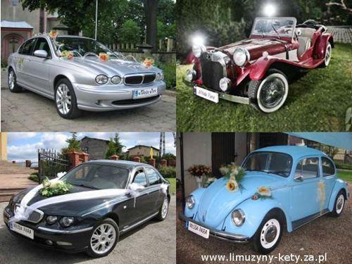 Pojazdy ślubne - retro - zabytkowe - luksusowe , Kęty, małopolskie