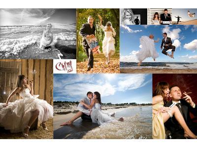 Zdjęcia ślubne w studio i w plenerze - kliknij, aby powiększyć
