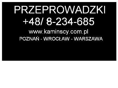 przeprowadzki poznan - kliknij, aby powiększyć