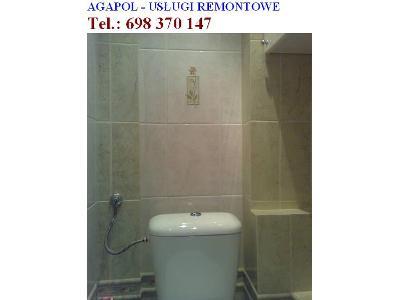 Remonty Glazura Terakota Kompleksowo łazienki