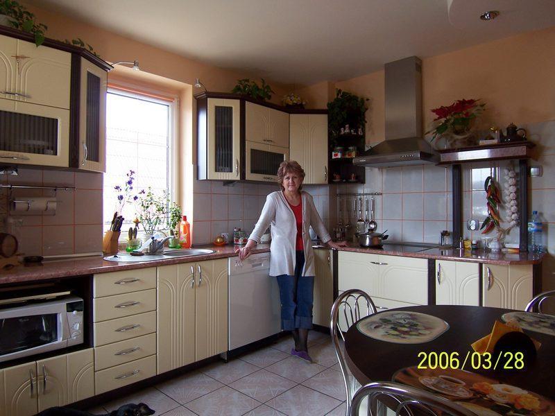 Meble kuchenne, meble biurowe, szafy garderody, Toruń   -> Kuchnia Brw Wanilia
