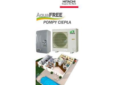 Pompa ciepła hitachi aqua free - kliknij, aby powiększyć