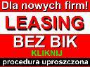 Leasing uproszczony- operacyjny, zwrotny bez BIK, cała Polska