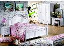 Łóżko białe 150x190 seria Księżniczka #801, Stara Iwiczna, mazowieckie