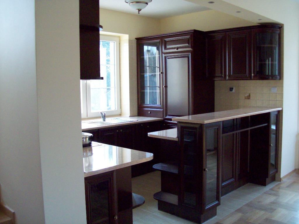 Meble na wymiar kuchenne biurowe szafy kuchnie, Halinów   -> Kuchnie Z Barkiem Na Wymiar