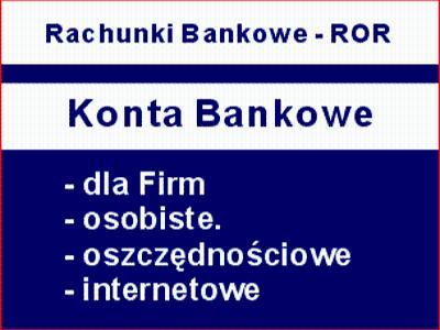 Konta Bankowe Choszczno Konta dla Firm Konto ROR