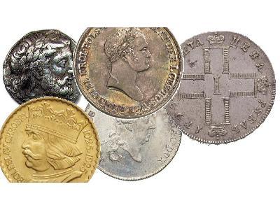Kupie złote monety, mazowieckie