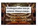 Profesjonalne lekcje śpiewu klasycznego., Będzin, śląskie