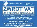 ! ZWROT VAT ZA MATERIAŁY BUDOWLANE, VZM CHORZÓW !, Chorzów, cała Polska, śląskie
