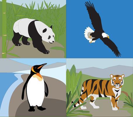 rysunki zwierząt