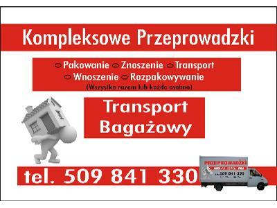 Przeprowadzka K�trzyn , Transport Baga�owy