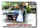 Biały i Czarny Chrysler 300C HEMI do ślubu