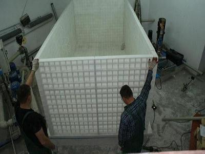 zbiornik PP p.poż w trakcie budowy indywidualne wykonanie mały - kliknij, aby powiększyć
