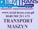 TRANSPORT PONADGABARYTOWY PONADNORMATYWNY MASZYN, Warszawa, świętokrzyskie