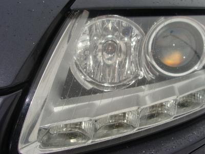 zamontowana listwa LED w Audi A6 - kliknij, aby powiększyć