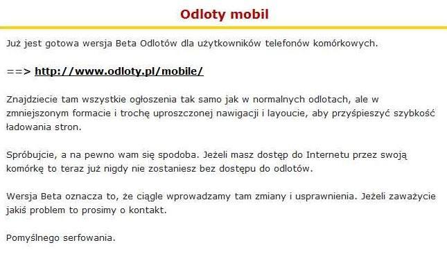 Galeria dla usługi: <b>Odloty</b>. <b>pl</b> prywatne <b>sex</b> <b>anonse</b> z całej Polski ...