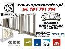 SPAWCENTER automatyka do bram, bramy, ogrodzenia, Leszno, wielkopolskie