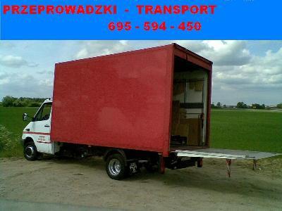 Transport - Przeprowadzki Łaziska Górne