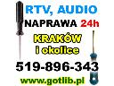 Naprawa RTV Całą Dobę Kraków , Kraków, małopolskie