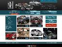 Projekt strony www dla dilera samochodów ekskluzywnych Premium SAAB