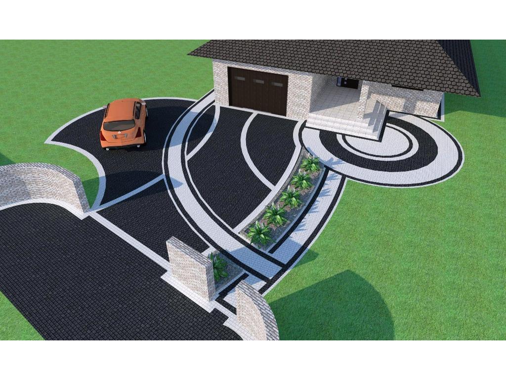 Projektowanie Otoczenia Domu Galeria Zdjęcie 8 Z 10 Kostka