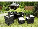 Komplet technorattan 4 fotele+ 4pufy+stół DS-222, Stara Iwiczna, mazowieckie